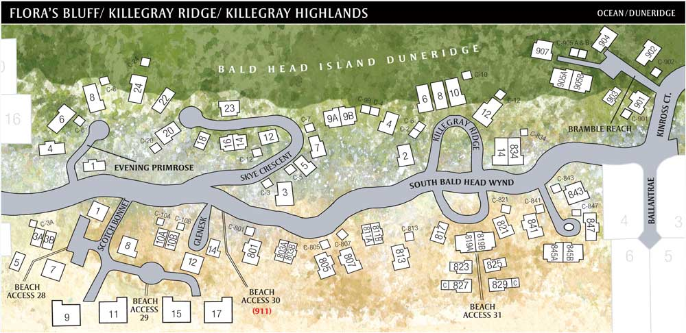 Bald Head Island Beach Access Map The Best Beaches In World