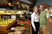 Claude & Melissa at the Maritime Market