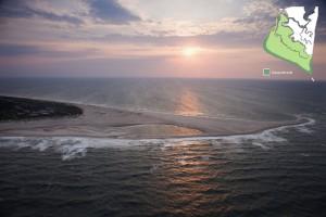 Bald Head Island Point at Sunset