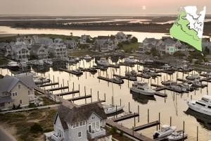 Aerial Harbour Village & Marina View