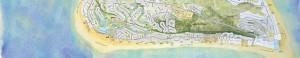 Island Map - Banner