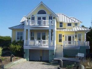 3 Laughing Gull Trail Bald Head Island - Front of Home
