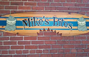 Mikes Bites Sign