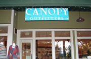 Canopy Outfitters Sign