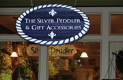 The Silver Peddler & Gift Accessories Sign
