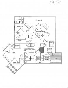 111 North Bald Head Wynd Bald Head Island - Floor Plan: First Floor