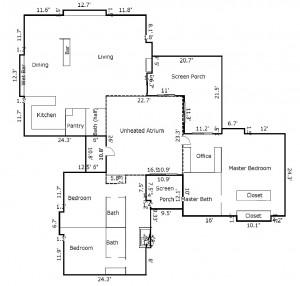 7 Bufflehead Court Floor Plan 1