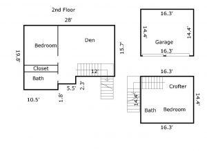 3 Bufflehead Court Floor Plan 2