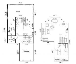 7 Keepers Landing Bald Head Island - Floor Plan: Total