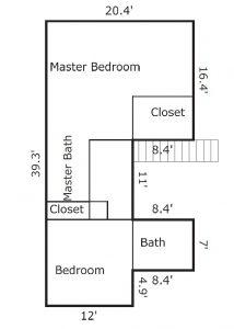 7 Bayberry Ct Bald Head Island - Floor Plan: Second Floor