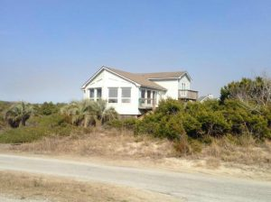 221 West Bald Head Wynd Bald Head Island - Front of Home from a Distance