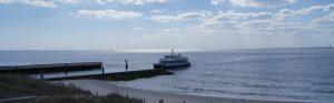 Ferry Entering the Marina