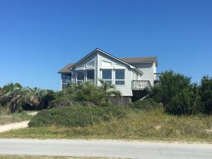 221 West Bald Head Wynd Bald Head Island - Front of Home