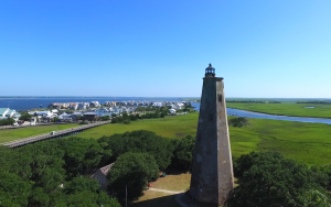 Old Baldy Aerial View with Marina
