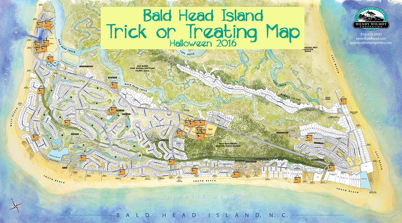 Trick Or Treating On Bald Head Island