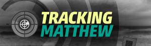 Tracking Hurricane Matthew Graphic