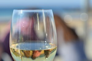 Wine with Blurry Background