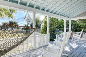 11 Windward Ct Bald Head Island - View off Back Porch