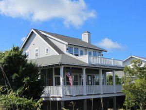 18 Cape Fear Trail Bald Head Island - Angled View of Home