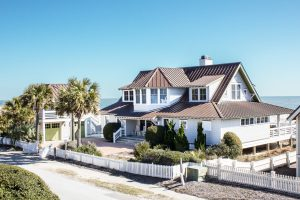 234 Station House Way Bald Head Island - Side of Home