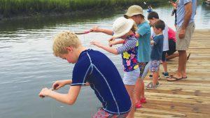 Kids Crabbing Photo 2