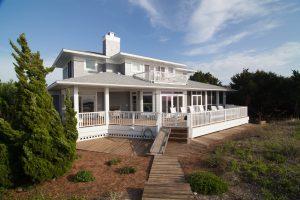 19 Cape Fear Trail Bald Head Island - Back of Home