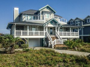 6 Sandspur Trail Bald Head Island - Front of Home