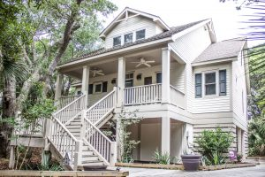 11 Fort Holmes Trail Bald Head Island - Front of Home