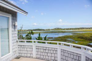 5 Stede Bonnet Close Bald Head Island - Back Porch View