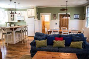 21 Bay Tree Trail Bald Head Island - Living Room and Kitchen