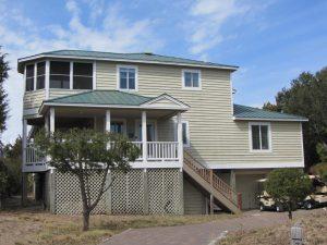 7 Spikerush Court Bald Head Island - Front of Home