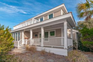 19 Indian Blanket Trail Bald Head Island - Front of Home