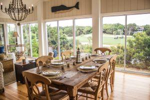 19 Mourning Warbler Bald Head Island - Dining Room
