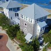 1 Row Boat Row Bald Head Island - Aerial View