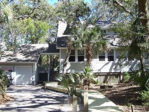 5 Dogwood Trail Bald Head Island - Front of Home - Rental Property - For Sale