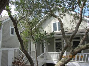 14 Musket Ct Bald Head Island - Front of Home - Rental Property