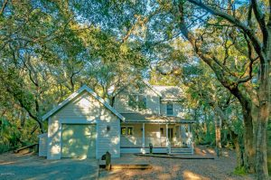 57 Fort Holmes Trail Bald Head Island - Front of Home (Darker)