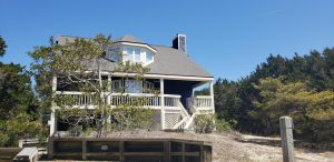 33 Mourning Warbler Bald Head Island - Front of Home - For Sale