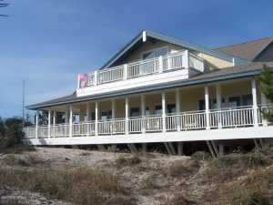 4 East Beach Drive Bald Head Island - Front of Home - For Sale