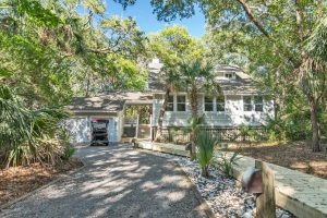 5 Dogwood Trail Bald Head Island - Front of Home - For Sale