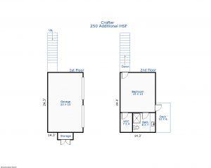 234 Station House Way Bald Head Island - Floor Plans: Crofter
