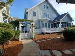 10A Scotch Bonnet Bald Head Island - Front of Home - For Sale