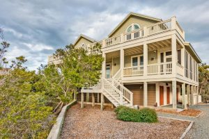 209 West Bald Head Wynd Bald Head Island - Front of Home - For Sale