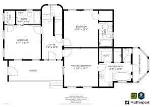 617 Ocracoke Way Bald Head Island - Floor Plan: First Floor