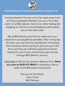 BHI Delivery Email