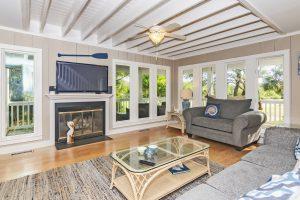 106 North Bald Head Wynd Bald Head Island - Living Room - For Sale