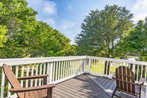 106 North Bald Head Wynd Bald Head Island - Upper Level Porch View - For Sale