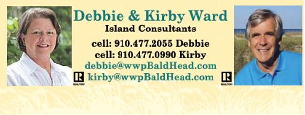 Wards Team Business Card Bald Head Island Real Estate
